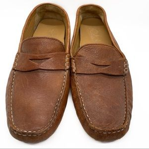 COLE HAAN BROWN LEATHER SHOES LOAFERS SZ 8